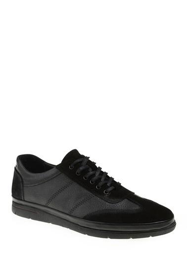 Divarese Bağcıklı Ayakkabı Siyah